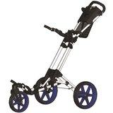 Fastfold Flex 360 Golftrolley Wit/Blauw