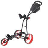 Bigmax Autofold X Golftrolley Zwart/Rood