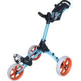 Fastline Compact Golftrolley Lichtblauw/Oranje