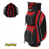 BagBoy Super Lite Cartbag Zwart/Rood