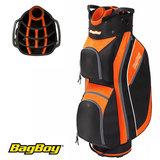 BagBoy Super Lite Cartbag Zwart/Oranje