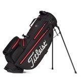 Titleist Players 4 Plus Stadry Standbag Golftas zwart/rood