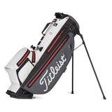 Titleist Players 4 Plus Stadry Standbag Golftas Grijs/Wit/Rood