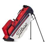 Titleist Players 4 Plus Stadry Standbag Golftas Rood/Wit/Navy