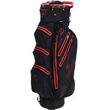 Spalding Waterproof Zero Contact Cartbag Zwart/Rood