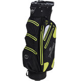 Spalding Waterproof Zero Contact Cartbag Zwart/Lime