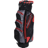 Spalding Waterproof Zero Contact Cartbag Grijs/Rood