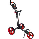 Speedster Golftrolley 2.0 Antraciet Rood