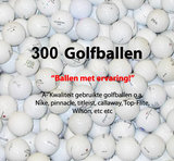 300 Lakeballs A-Kwaliteit Golfballen