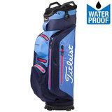 Titleist Stadry Deluxe Waterproof Cartbag Navy/licht blauw