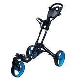 Fastfold 360 Golftrolley Zwart/Blauw