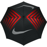 Nike Windsheer Lite III Golfparaplu Zwart/Rood