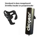 Incl. Clicgear Fleshouder en Parapluhouder
