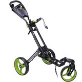 Fastfold 360 Golftrolley Zwart/Lime