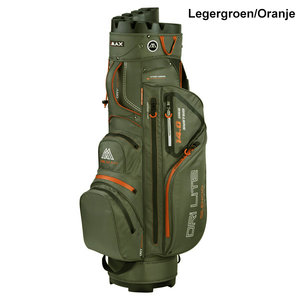 Bigmax Dri lite Silencio Cartbag Legergroen/Oranje