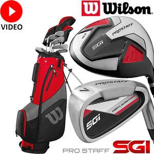 Wilson Prostaff SGI Complete Golfset Heren Staal