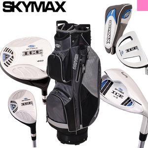 Skymax IX-5 Complete Golfset Dames Graphite met Cartbag Zwart/Grijs