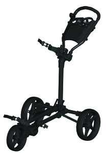 Fastfold Slim Golftrolley Mat Zwart