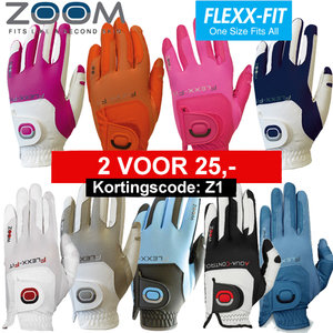 Zoom One Size Fits All Dames golfhandschoen