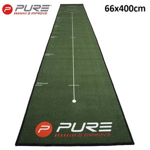 Pure Puttingmat 4 Meter Birdie Drill