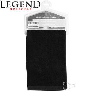 Legend Golfhanddoek Zwart