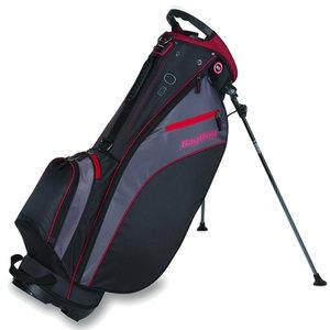 BagBoy Carry Lite Pro Standbag Zwart/Bordeaux Rood