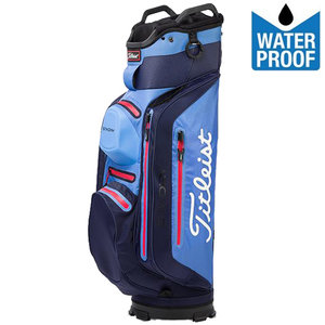 Titleist Stadry Deluxe Waterproof Cartbag, Navy/Lichtblauw