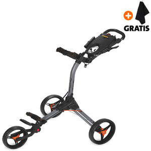 BagBoy Compact 3 Golftrolley, Grijs/Oranje