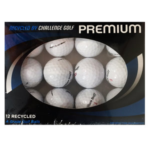 Wilson Staff A-Kwaliteit Lakeballs, 12 Stuks Wit