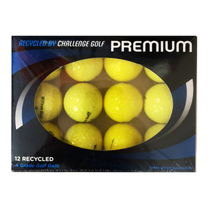 Wilson Staff A-Kwaliteit Lakeballs, 12 Stuks Geel