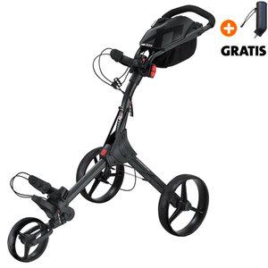 Big Max IQ+ Golftrolley, Zwart