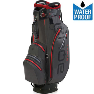 Big Max Aqua Sport 2 Waterproof Cartbag Golftas, Zwart/Rood