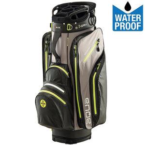 Big Max Aqua Tour Waterproof Cartbag Golftas, Zwart/Geel