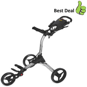 BagBoy Compact 3 Golftrolley, Zilver