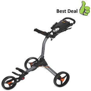 BagBoy Compact 3 Golftrolley, Grijs/Oranje