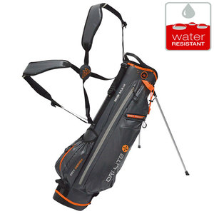 Big Max DriLite 7 Standbag Golftas, Grijs/Oranje