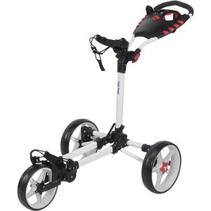 Fastfold Flat Golftrolley, Wit