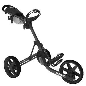 Clicgear 3.5+ Golftrolley, Mat Zwart